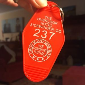 Room 237 The Overlook Hotel key chain -The Shining